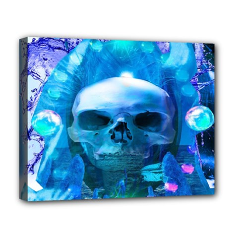 Skull Worship Deluxe Canvas 20  x 16