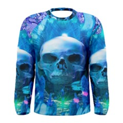 Skull Worship Men s Long Sleeve T Shirts