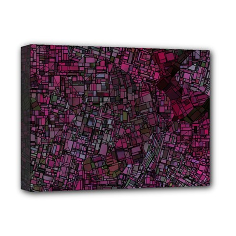 Fantasy City Maps 1 Deluxe Canvas 16  x 12