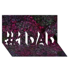 Fantasy City Maps 1 #1 Dad 3d Greeting Card (8x4)