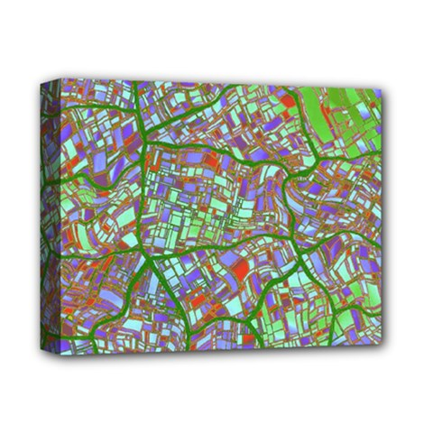 Fantasy City Maps 2 Deluxe Canvas 14  x 11