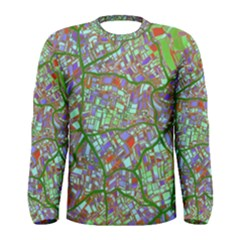 Fantasy City Maps 2 Men s Long Sleeve T-shirts