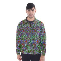Fantasy City Maps 2 Wind Breaker (Men)