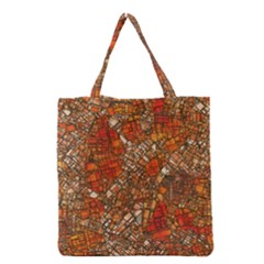 Fantasy City Maps 3 Grocery Tote Bags