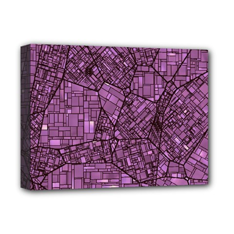 Fantasy City Maps 4 Deluxe Canvas 16  x 12