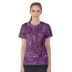 Fantasy City Maps 4 Women s Cotton Tees