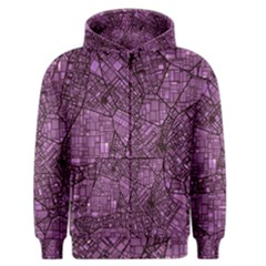 Fantasy City Maps 4 Men s Zipper Hoodies