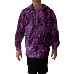 Fantasy City Maps 4 Hooded Wind Breaker (kids)