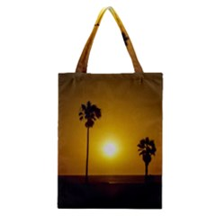 Sunset Scene At The Coast Of Montevideo Uruguay Classic Tote Bags