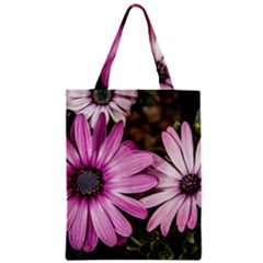 Beautiful Colourful African Daisies  Zipper Classic Tote Bags