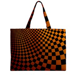 Abstract Square Checkers  Tiny Tote Bags