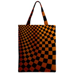 Abstract Square Checkers  Classic Tote Bags