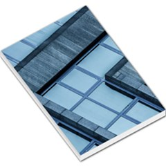 Abstract View Of Modern Buildings Large Memo Pads