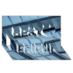 Abstract View Of Modern Buildings Best Friends 3d Greeting Card (8x4)