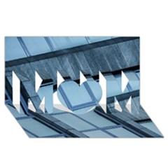 Abstract View Of Modern Buildings MOM 3D Greeting Card (8x4)