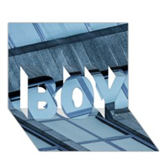 Abstract View Of Modern Buildings BOY 3D Greeting Card (7x5)