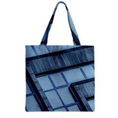 Abstract View Of Modern Buildings Grocery Tote Bags