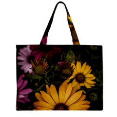 Beautiful Colourful African Daisies  Zipper Tiny Tote Bags