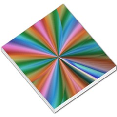Abstract Rainbow Small Memo Pads