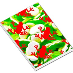 Box of Frogs  Large Memo Pads