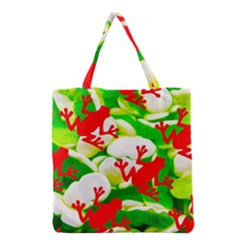 Box Of Frogs  Grocery Tote Bags
