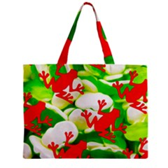 Box Of Frogs  Zipper Tiny Tote Bags