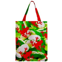 Box Of Frogs  Zipper Classic Tote Bags
