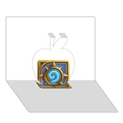 Hearthstone Update New Features Appicon 110715 Apple 3d Greeting Card (7x5)