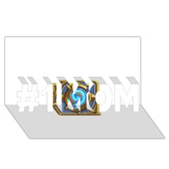 Hearthstone Update New Features Appicon 110715 #1 Mom 3d Greeting Cards (8x4)