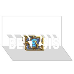 Hearthstone Update New Features Appicon 110715 Best Sis 3d Greeting Card (8x4)