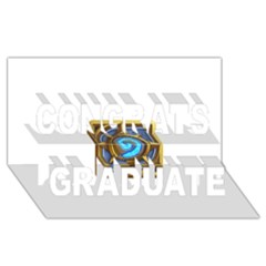 Hearthstone Update New Features Appicon 110715 Congrats Graduate 3d Greeting Card (8x4)