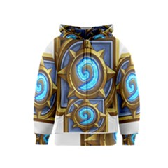 Hearthstone Update New Features Appicon 110715 Kids Zipper Hoodies