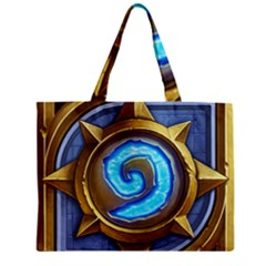 Hearthstone Update New Features Appicon 110715 Zipper Tiny Tote Bags