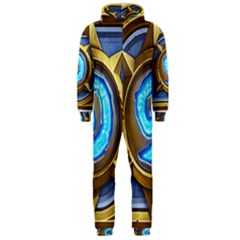 Hearthstone Update New Features Appicon 110715 Hooded Jumpsuit (men)