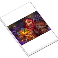Hearthstone Gold Large Memo Pads