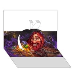 Hearthstone Gold Apple 3d Greeting Card (7x5)