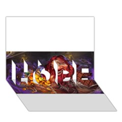 Hearthstone Gold HOPE 3D Greeting Card (7x5)