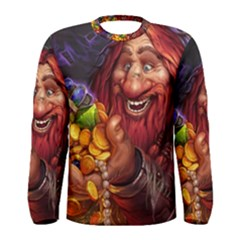 Hearthstone Gold Men s Long Sleeve T Shirts
