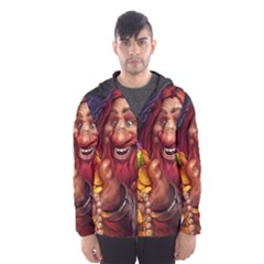 Hearthstone Gold Hooded Wind Breaker (Men)
