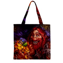 Hearthstone Gold Zipper Grocery Tote Bags
