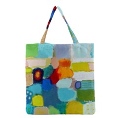 Peace3 Grocery Tote Bags