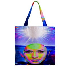 Sunshine Illumination Zipper Grocery Tote Bags