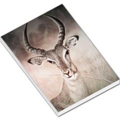 Antelope horns Large Memo Pads
