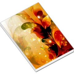 Awesome Colorful, Glowing Leaves  Large Memo Pads
