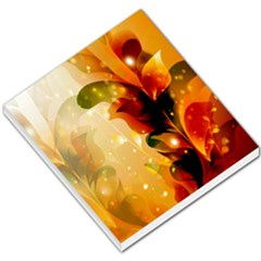 Awesome Colorful, Glowing Leaves  Small Memo Pads