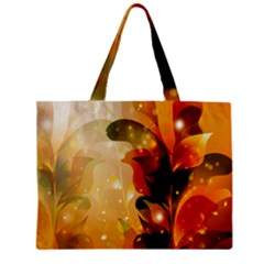 Awesome Colorful, Glowing Leaves  Tiny Tote Bags