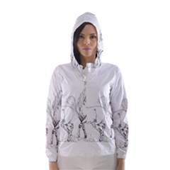 Logosquare Hooded Wind Breaker (Women)