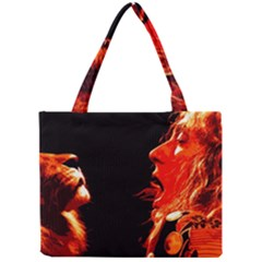 Robert And The Lion Tiny Tote Bags