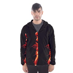 Robert And The Lion Hooded Wind Breaker (Men)