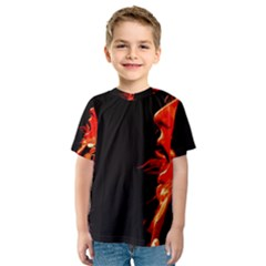 Robert And The Lion Kid s Sport Mesh Tees